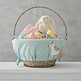 Aqua Unicorn Easter Basket Liner