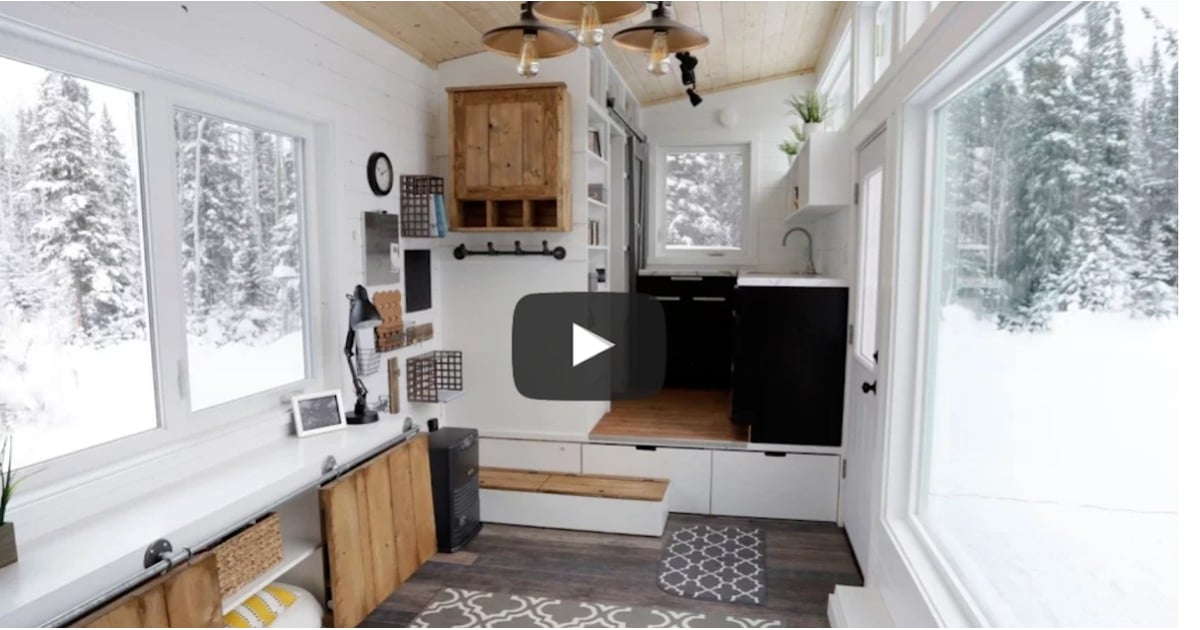 Tiny Home Designs: Ana White's Tiny House With Elevator Bed