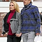 Britney Spears and Jason Trawick spent some time in NYC.