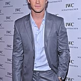 Chris Hemsworth went to the IWC Schaffhausen boutique opening.