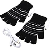 USB Powered Wool Heated Gloves