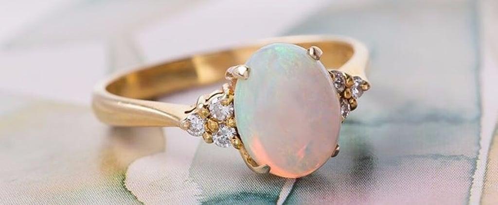 25 Opal Stone Engagement Rings For Aspiring Unicorn Brides