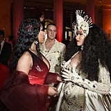 Pictured: Nicki Minaj and Cardi B