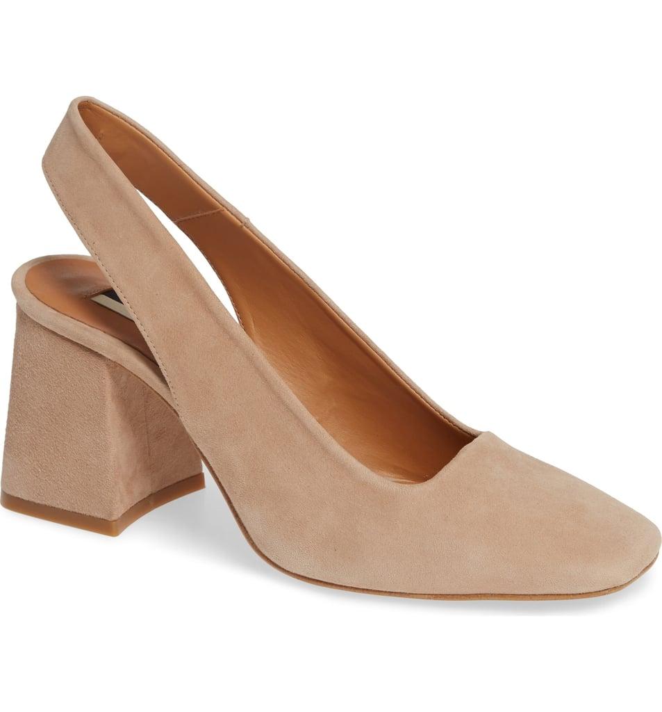 8ca7c57ecb8a Topshop Gainor Block Heel Slingback Pump   Shoe Trends Fall 2018 ...