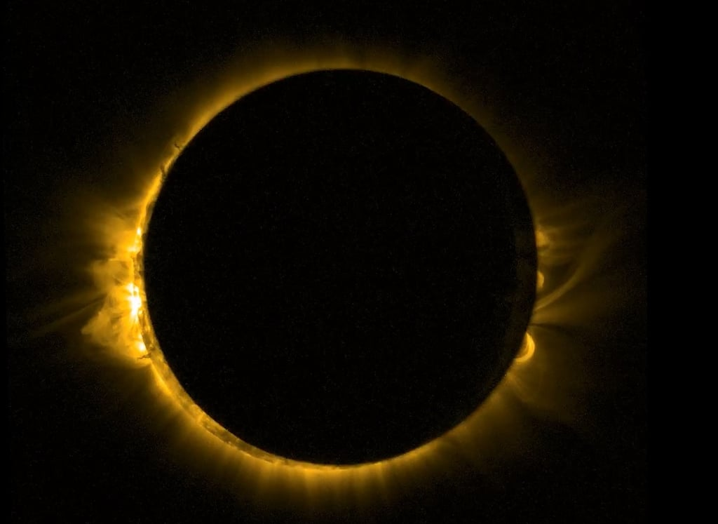 If You Didn't Catch Yesterday's Solar Eclipse, We've Got You Covered