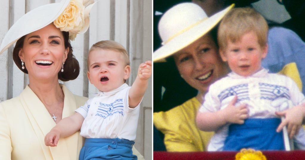 Prince Louis's Cute Trooping the Colour Outfit Is a Sweet Nod to His Dad and Prince Harry
