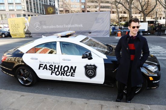 Brad Goreski Chauffeur for 2011 Fall New York Fashion Week