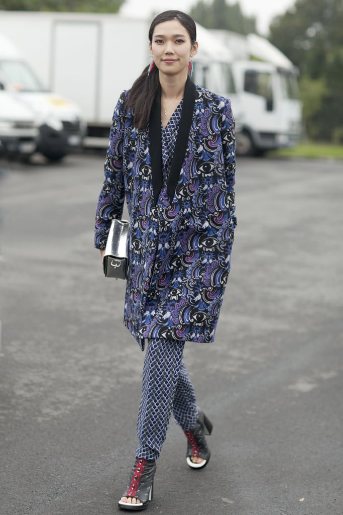 If you're going to go for bold print, Kenzo's not a bad way to go.