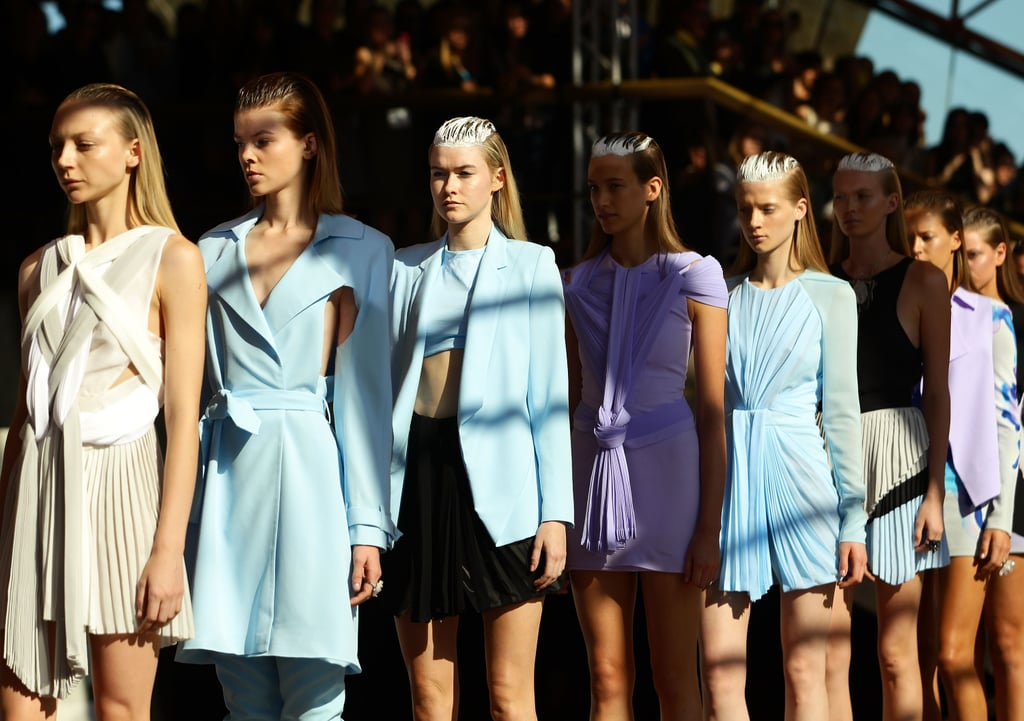 Photos of Dion Lee SS 2010-11 at RAFW 2010