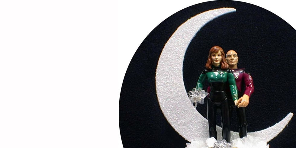 7 Cute Cake Toppers For Trekkie Couples