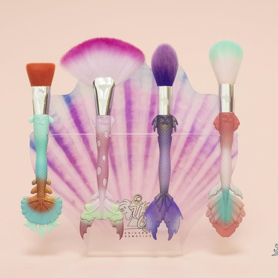 Unicorn Cosmetics Silicone Mermaid Brushes