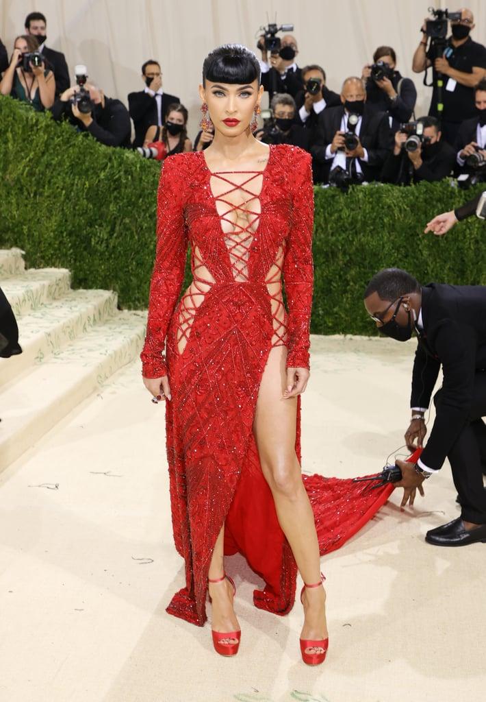 Megan Fox at the 2021 Met Gala
