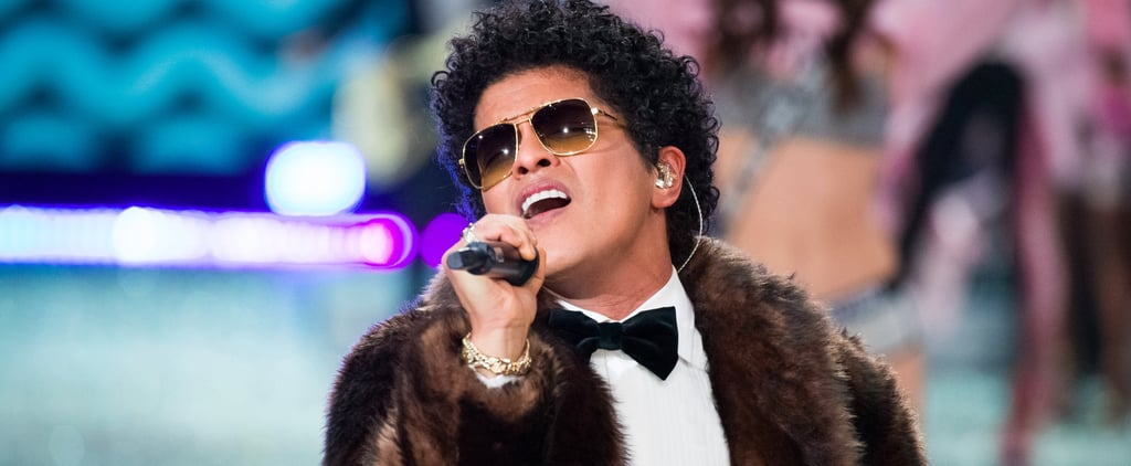 "Bruno Mars's ""24K Magic"" Performance at the Victoria's Secret Show Is Like a Diamond-Encrusted Heaven"