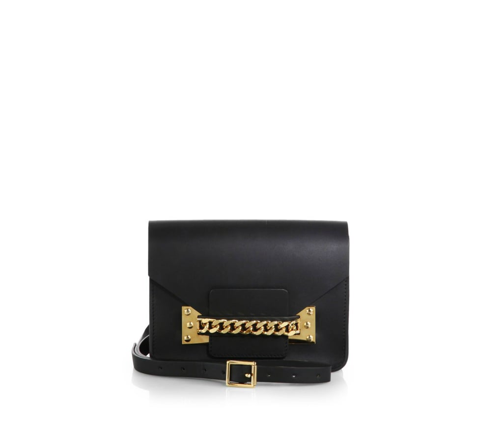 Sophie Hulme Chain Envelop Shoulder Bag