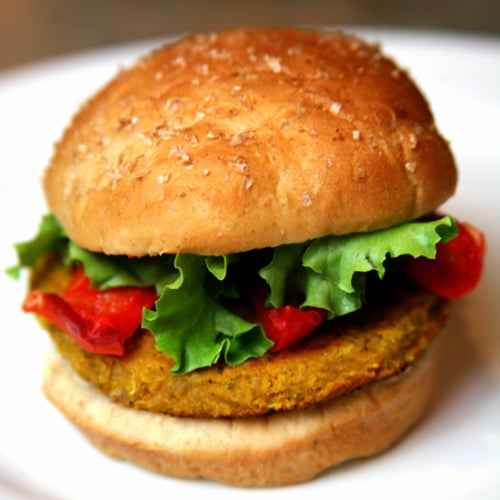 Spicy Quinoa Veggie Burger Recipe