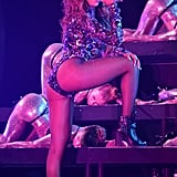 Beyoncé got seriously sexy during her performance during the MTV VMAs in August 2014.