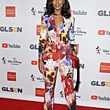 There Was No Messing With Kerry and Her Florals at the 2017 GLSEN Respect Awards