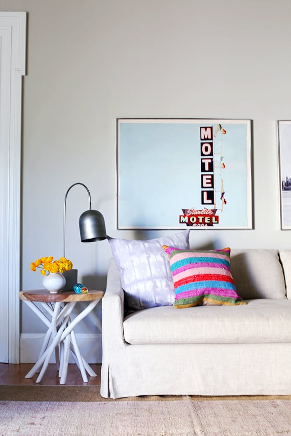 Decorate with locally inspired art