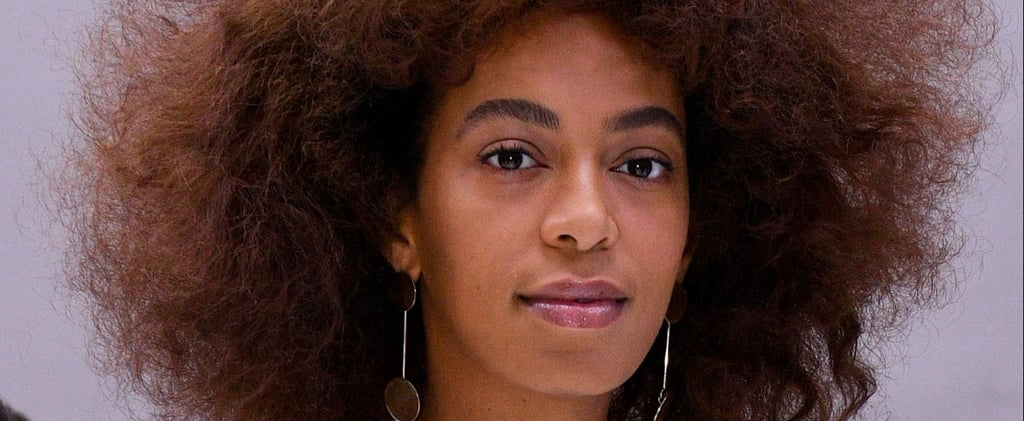 Solange Just Went Platinum Blonde — and It's Her Most Dramatic Change Yet