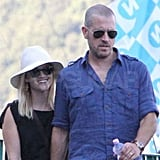 Reese Witherspoon flashed a smile with Jim Toth.