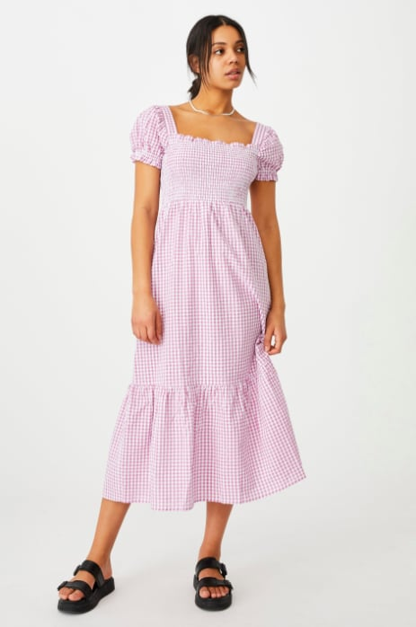 Cotton On Woven Louise Shirred Maxi Dress ($49.99)