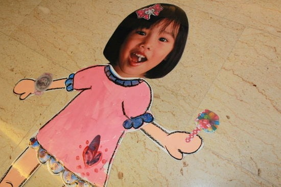 Make Life-Size Paper Dolls