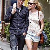 Kate Bosworth and boyfriend Michael Polish looked cute and casual as they stopped for lunch at LA's Jack n' Jill's.