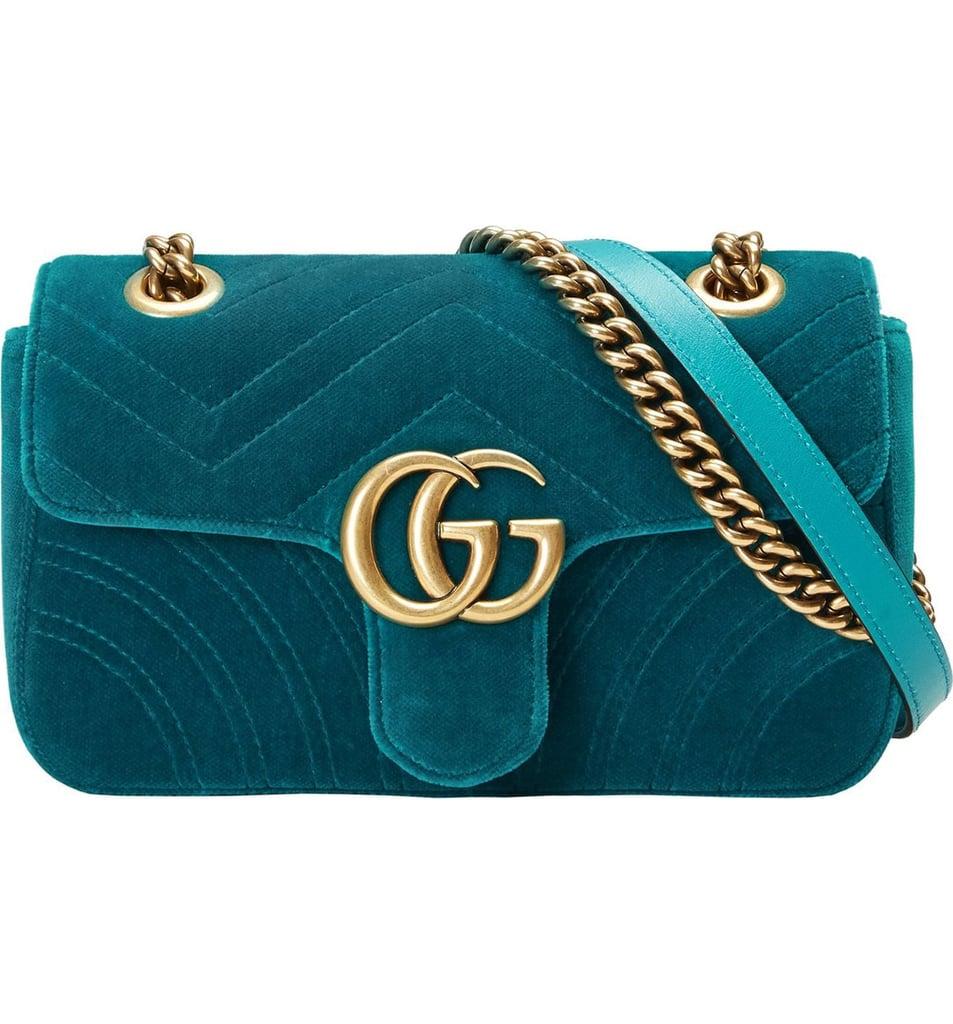 7aa5ae2e13fe Gucci GG Marmont Matelassé Bag | Best Crossbody Bags 2018 | POPSUGAR ...