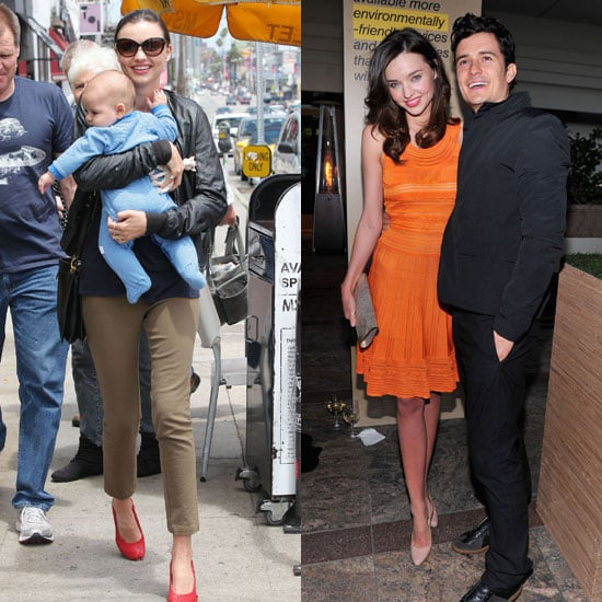Miranda Kerr Pictures With Son Flynn Bloom and Husband Orlando Bloom