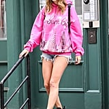 Taylor Swift Pink New York City Sweatshirt