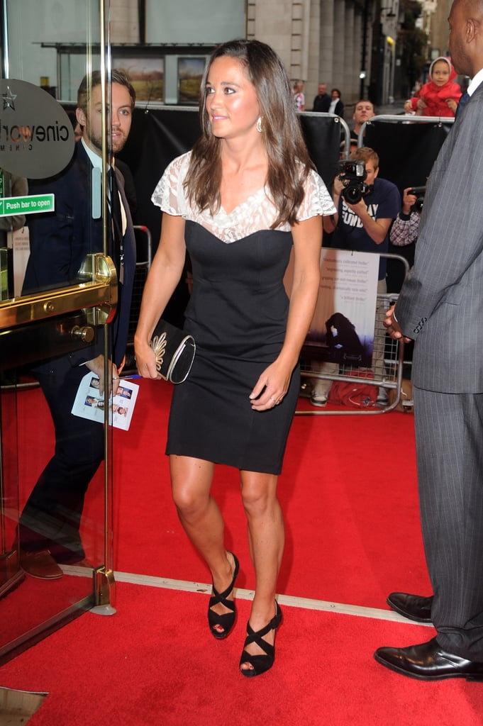 Pippa Middleton made an entrance at the Cineworld Haymarket.