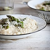 Grilled Asparagus Lemon Risotto