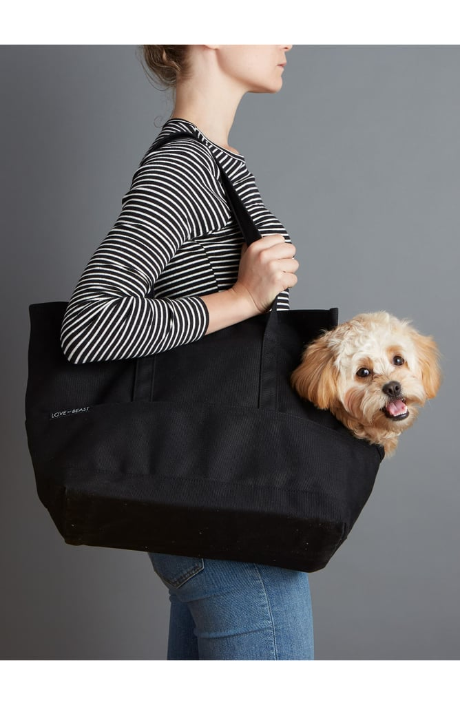 LoveThyBeast Waxed Canvas Pet Tote Carrier
