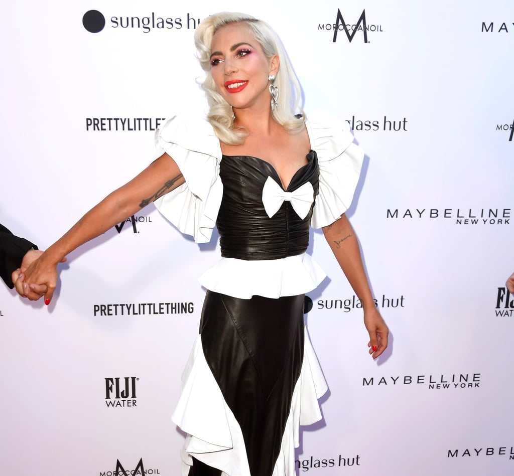 Lady Gaga Rodarte Dress at The Daily Front Row Awards 2019