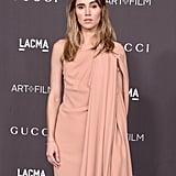 Suki Waterhouse at the 2019 LACMA Art+Film Gala
