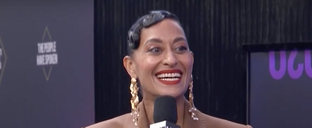 Tracee Ellis Ross's Hair at the People's Choice Awards