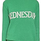 Alberta Ferretti Oversized Wednesday Wool Blend Sweater
