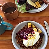 On a lighter — and much healthier! — note, Sweedeedee is a great place to grab breakfast. Serving everything from sandwiches and egg plates to homemade pastries and granola, this cozy cafe offers so much delicious food, as well as a relaxing, airy atmosphere.