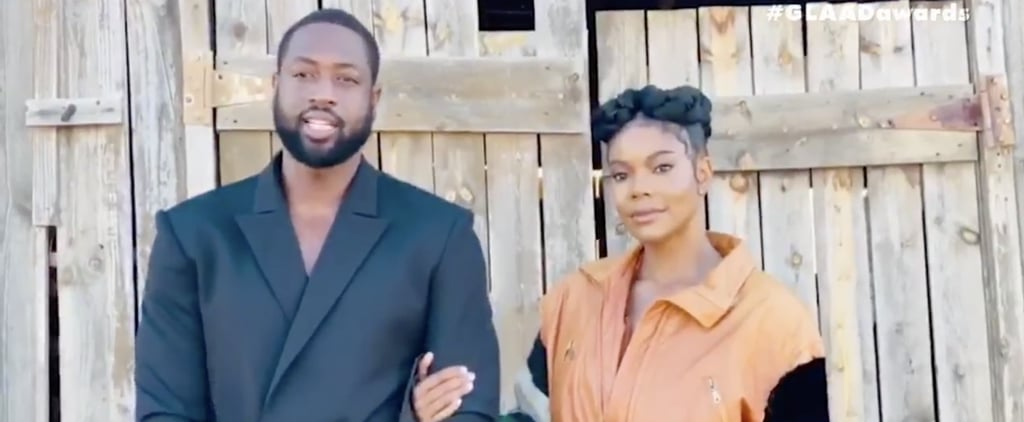 Dwyane Wade and Gabrielle Union Praise Zaya at GLAAD Awards