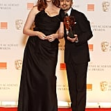 Christina Hendricks and Adam Deacon, 2012