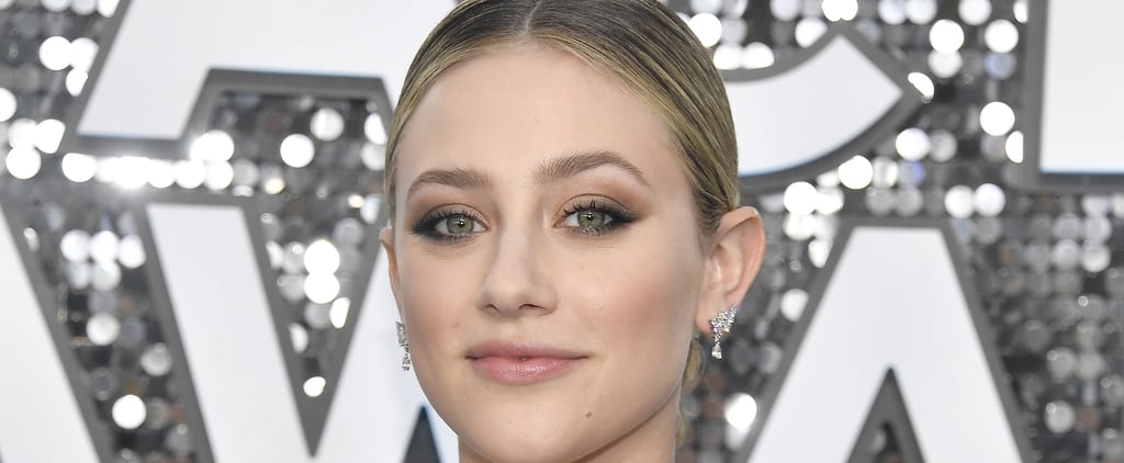 Lili Reinhart's Braided Bun at the SAG Awards 2020