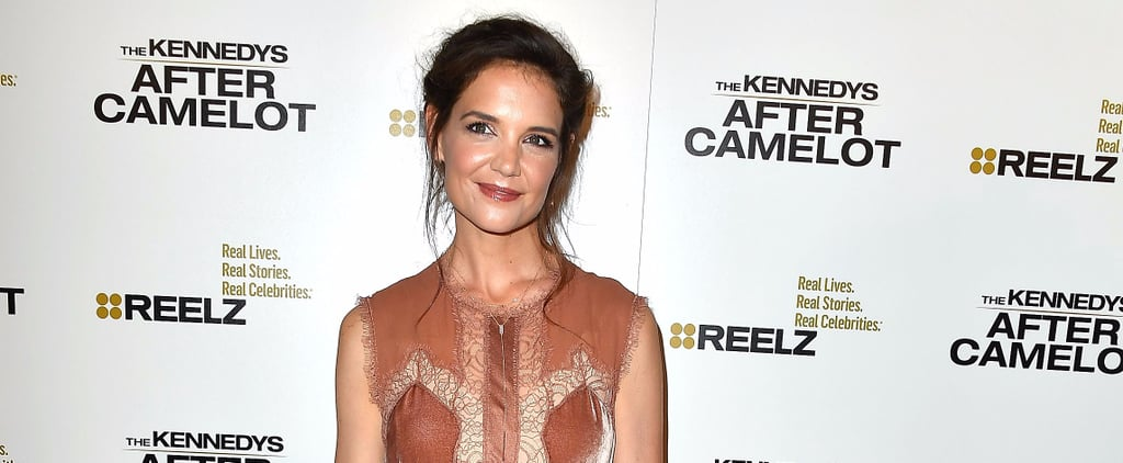Katie Holmes Walked the Red Carpet — and Then Changed Into These Amazing Shoes