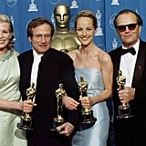 Pictured: Kim Basinger, Robin Williams, Helen Hunt, and Jack Nicholson