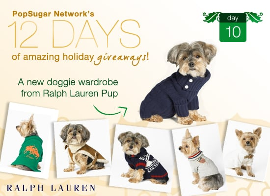 12 Days of Holiday Giveaways, Day 10: Win a New Doggie Wardrobe From Ralph Lauren!