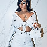 Rihanna Looked Like a '60s Bombshell in Her Monochrome Look