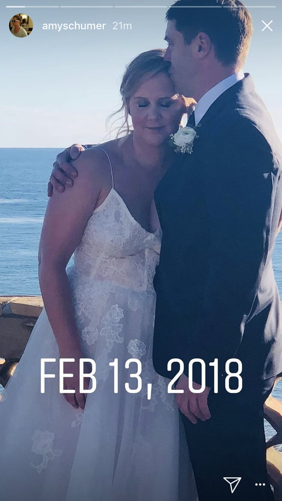 Amy Schumer's Surprise Wedding Brought So Many Celebrities to the Beach