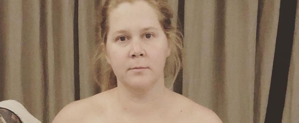Amy Schumer Shares Breast Pump Photo on Instagram