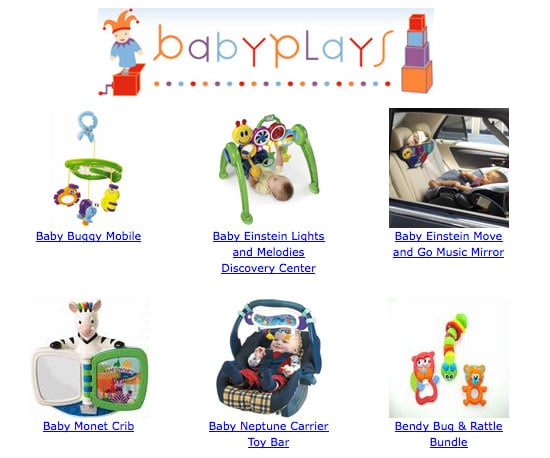 BabyPlays Toy Rental Service