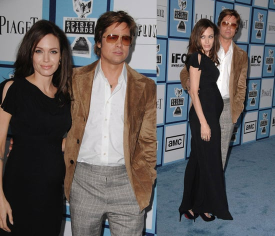 Angelina Looks Pregnant at The Independent Spirit Awards
