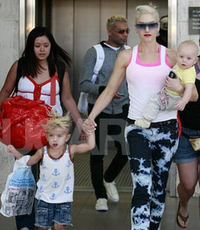 Photos of Gwen Stefani With Sons Zuma and Kingston in Washington DC